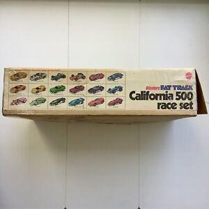 Hot Wheels Redline Sizzlers Fat Track California 500 Race Set