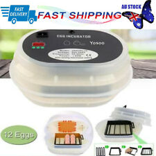 Egg Incubator Automatic Digital 7 Chicken Quail Poultry Bird Duck Poultry