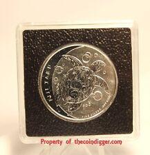 Fiji 1/2oz Silver Taku 2x2 Coin Holder 32mm Quadrum INTERCEPT Snaplock & Stand