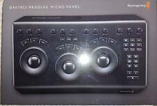 Blackmagic Davinci Resolve Micro panel grade footage from Ursa mini pro gh5 c200
