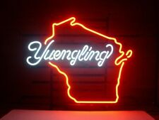 """New Yuengling Wisconsin Lager Ale Neon Sign 20""""x16"""" Bar Pub Gift Light Lamp"""