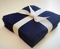 "100 Navy Blue Moda  pre cut charm pack 5"" squares 100% cotton fabric quilt"