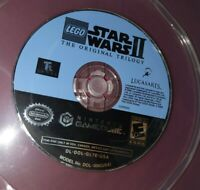 LEGO Star Wars 2 The Original Trilogy Nintendo GameCube 2006 Tested Disc Only