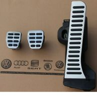 Audi S3 RS3 Pedal Caps Set Manual Gear For A3 8P TT 8J TTS TTRS RHD Genuine New