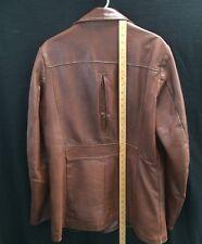 Men's Vtg Reed Split Back Soft Leather Jacket~sz 42~Excellent Condition