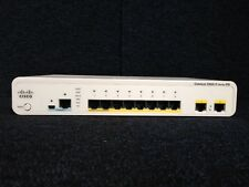 CISCO WS-C2960CPD-8TT-L  Catalyst 2960C PD Switch 8 FE, 2 x 1G, LAN Base