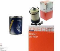 MAHLE / KNECHT Inspektionspaket Filter Set SCT Motor Flush Motorspülung 11598682