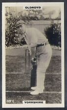 PHILLIPS-CRICKET ERS BROWN BACK F192-#119c- YORKSHIRE - OLDROYD