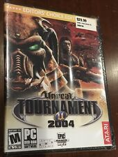 Unreal Tournament 2004: Editor's Choice Edition (PC, 2004) DVD-ROM NEW SEALED!