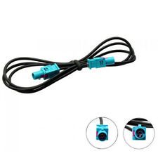 Fakra aerial antenna extension cable 1M FAKRA Z Long male to male Pigtail RG174