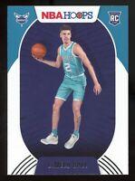 2020-21 Panini NBA Hoops LAMELO BALL Rookie Card RC #223 Charlotte Hornets E7