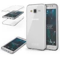 Samsung Galaxy J7 (2015)  TPU Case 360 Grad Schutz Hülle Etui Cover Touch Case