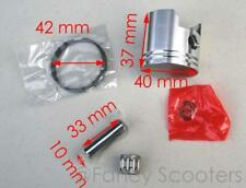 2 STROKE 43CC  PISTON,RINGS,PIN AND G-RINGS SET (PISTON DIAMETER: 40MM)