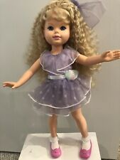 """1989 My Beautiful Doll 17.5"""" Pose-Able Rosemary Locket New Crimped Hair"""