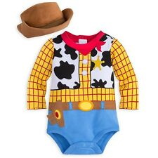 Disney Store Woody Baby Costume Bodysuit 3-6 Months BNWT Toy Story
