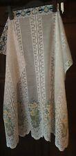 Beautiful French Daisy Lace Curtain