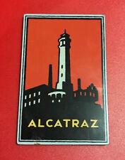 Alcatraz Refrigerator Metal Magnet - Purchased at Alcatraz