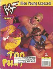 APRIL 2000 WWF WRESTLING MAGAZINE SCOTTY TOO HOTTY RIKISHI SEXY WRESTLEMANIA WWE