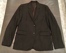 NWT Vince Slim Fit Olive Green Working Cuff 100% Wool Sportcoat 38R $525
