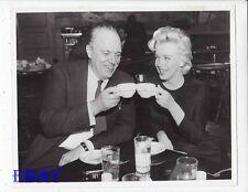 Marilyn Monroe Director Joshua Logan RARE Photo candid