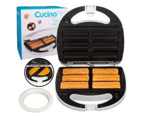 Empanada and Churro Maker Machine- Cooker w 4 Removable Plates