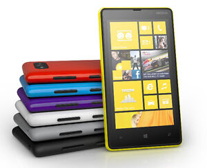 "Nokia Lumia 820 N820 - Windows Original Phone 4.3"" Unlocked 4G Wifi 8MP 8GB NFC"