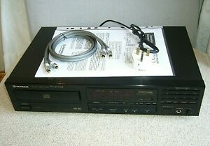 Pioneer PD-4700 Compact Disc Player - Free quality Stereo RCA Cable