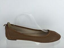 J. Crew Womens Brown Leather Flats 11