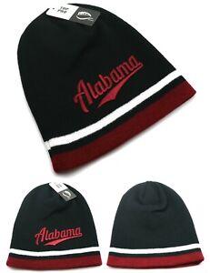 Alabama Top Pro New Beanie Toque Skull Crimson Tide Black Red Era Hat Knit Cap