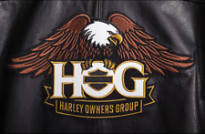 PATCH TOPPA HARLEY DAVIDSON HOG AQUILA GRANDE LIFE MEMBER DA SCHIENA! bikers