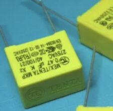 1pz. 0,47uF 470nF 275V AC Condensatore X2 Polipropilene safety, sicurezza