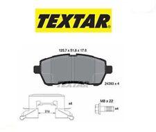 2428302 Kit pastiglie freno, Freno a disco ant.Ford Fiesta 08> (MARCA-TEXTAR)