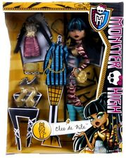 Nuevo oficial Monster High Cleo De Nile I Heart Set Muñeca De Moda