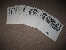 Sunday Funday - Nintendo NES - MANUAL ONLY - New Wholesale Lot of 50