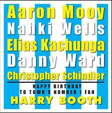 Huddersfield TOWN-Personalizzato Compleanno carta