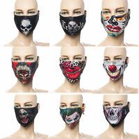 Mundmaske verschiedene Muster mehrfarbig Behelfsmaske Fashion-Maske Neu waschbar