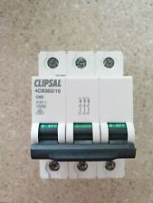 CLIPSAL Max 4 Miniature Circuit Breakers 3 Pole 3 Modules 4CB363/10