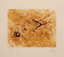 Llop - pinturas rupestres, Perelló - grabado intaglio original