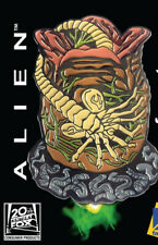 Alien Movies Face Hugger and Cocoon Large Colored Enamel Metal Pin NEW UNUSED
