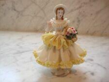 New listing German Dresden lady figurine