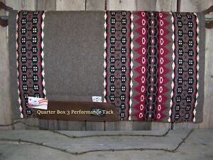 """Pad - Mesquite Wool Top, Felt with Fleece Lining (1"""" x 33 x 38) - Taupe"""