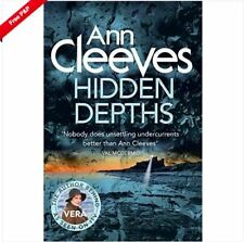 Hidden Depths by Ann Cleeves - paperback - free post