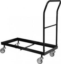 Flash Furniture Folding Chair Dolly , Black - Hf-700-Dolly-Gg 4 inch,