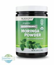 Organic Biodynamic Moringa Powder Dr Mercola 1 Jar (240g)