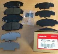 FOR HONDA CIVIC 2.0 EP3 TYPE R FRONT GENUINE BRAKE PADS WITH SHIMS BACK PLATE