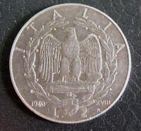 2 Lire IMPERO del 1940 - regno d'Italia Emanuele III° - SPL -  nr 774