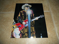 Zz Top Live 8x10 Concert Photo Billy Gibbons #2