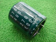 20 OEM Japan Nichicon 400v 270uf Electrolytic Capacitor