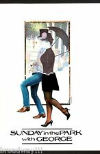 "Stephen Sondheim ""SUNDAY IN THE PARK"" Bernadette Peters / Mandy Patinkin 1984"