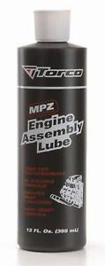 Torco MPZ Engine Assembly Lube 12oz / 355ml bottle